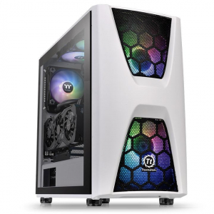 Obudowa Commander C34 Tempered Glass ARGB Snow Edition