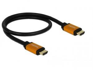 Kabel HDMI M/M v2.1 8K 60Hz czarny 0,5m