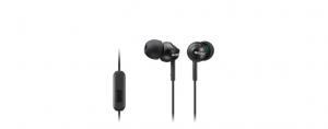 Słuchawki handsfree, mikrofon, MDR-EX110AP Black