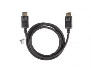 Kabel DisplayPort M/M 4K 1.8M czarny