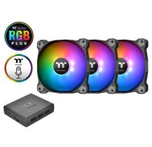 Wentylator Pure 14 RGB Plus TT Premium Edition 3 szt.