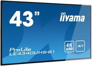 Monitor 43 LE4340UHS-B1 4K,18/7,LAN,AMVA3,USB,HD