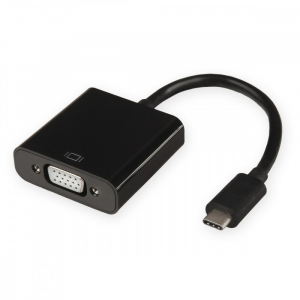 Adapter USB typ C do VGA [F]