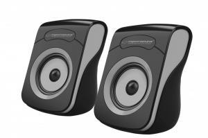 Głośniki 2.0 USB Flamenco czarno-szare