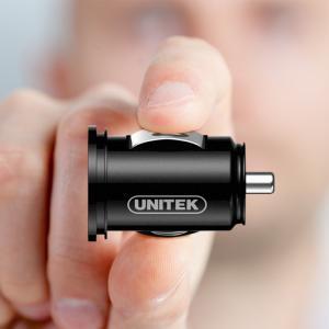 ZASILACZ SAMOCHODOWY 2x USB 2,4A,24W; Y-P540