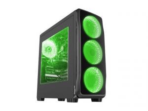 Obudowa Genesis Titan 750 USB 3.0 z oknem zielone podświetlenie
