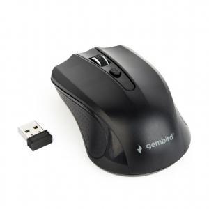 Bezprzewodowa mysz optyczna czarna