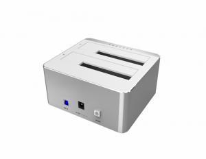 Stacja dokująca HDD;USB 3.0; CLONE; Y-3026 ALU.