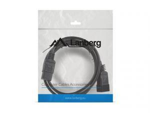 Przedłużacz kabla zasilającego IEC 320 C19 - C20 VDE 1.8M VDE czarny