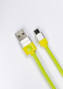 Kabel USB do Micro USB Origami 3m zielony