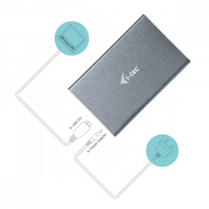 Obudowa zewnętrzna na dysk 2.5 MySafe USB 3.0 SATA/I/II/III HDD/SSD