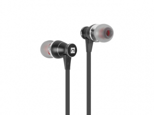Słuchawki dokanałowe Extreme Media NSL-1336 z mikrofonem czarne