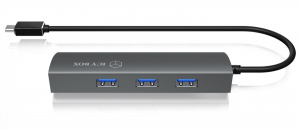 IB-HUB1406-C 3-portowy HUB i LAN