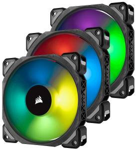 Fan LL120 RGB LED PWM 3 Fun Pack Premium Magnetic Levitation Fan ; Lighting Node PRO