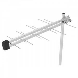Antena zewnętrzna SDA 612 DVB-T2/T Zysk 10dB,Imp 75OHm, 4G LTE