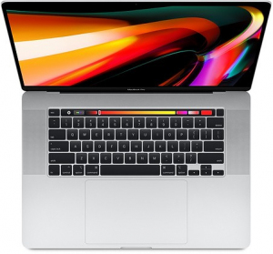 MacBook Pro 16 Touch Bar: 2.6GHz i7/16GB/512GB/RP5300M - Silver