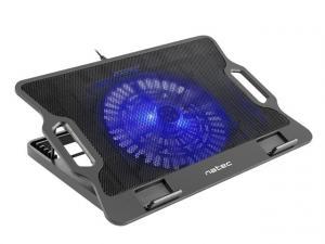 Podstawka chłodząca pod notebook Dipper podświetlenie, 2xUSB