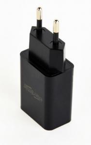 Ładowarka uniwersalna USB 2 A czarna