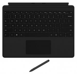 Surface Pro X Signature Keyboard with Slim Pen Bundle Commercial Black QJV-00007