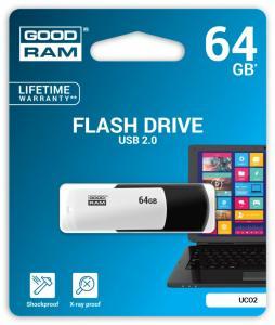 COLOUR BLACK&WHITE 64GB USB2.0