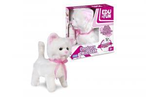 Kotek chodzący biały Edu&Fun
