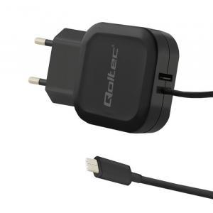 Ładowarka sieciowa 17W | 5V | 3.4A | USB + USB typ C