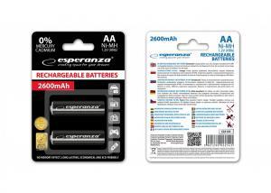 Akumulatory NI-MH AA 2600mAh czarne