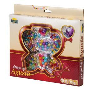 Agusia Koraliki, motyl w pudełku