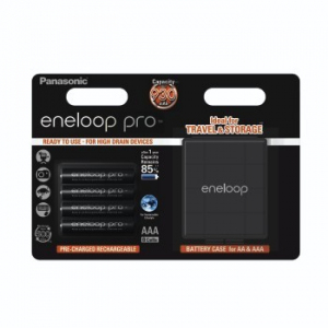 Akumulatory eneloop PRO AAA + futerał