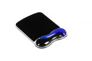 Podkładka pod mysz Duo Gel niebiesko-szara