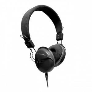 Słuchawki stereo AP-60MD z mikrofonem, czarne