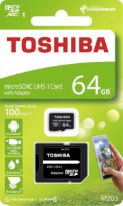 microSD 64GB M203 UHS-I U1 adapter