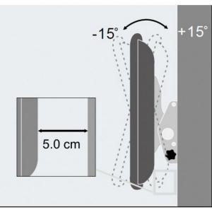 Uchwyt ścienny LCD/LED 23-55cali 60kg czarny