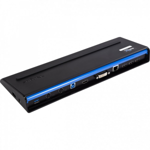 USB 3.0 SuperSpeed Dual Video Dosking Station with Power