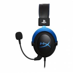 Słuchawki Cloud Gaming niebieskie PS4