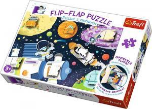 36 elementów Puzzle z okienkiem - Kosmos