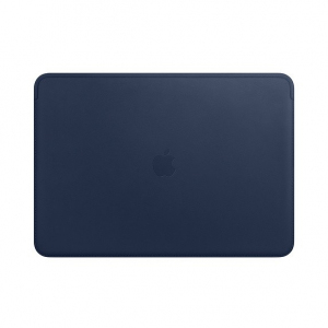 Futerał Leather Sleeve for 15-inch MacBook Pro - Midnight Blue