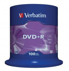 DVD+R 16x 4.7GB 100P CB 43551