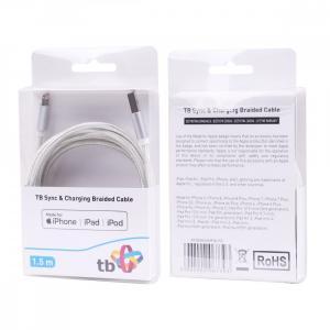Kabel Lightning-USB 1.5m srebrny MFi