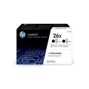 Toner 26X Black 9k Dual Pack CF226XD