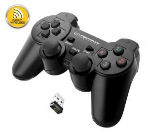GAMEPAD BEZPRZEWODOWY 2.4GH PS3/PC GLADITOR