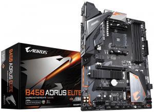 Płyta główna B450 AORUS ELITE AM4 4DDR4 DVI/HDMI/M.2 ATX