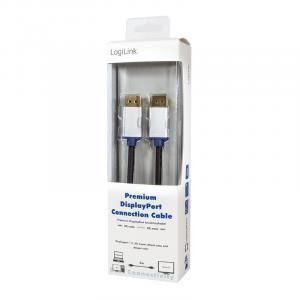 Kabel DisplayPort męski Premium, długość 2m
