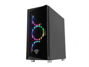 Obudowa Genesis Irid 400 3.0 z oknem, podświetlenie RGB