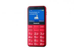 KX-TU150 CZERWONY TELEFON DLA SENIORA