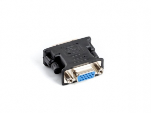 Adapter DVI-I (M)(24+5) Dual Link -> VGA (F)