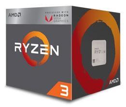 Procesor Ryzen 5 3400G 3,7GH AM4 YD3400C5FHBOX
