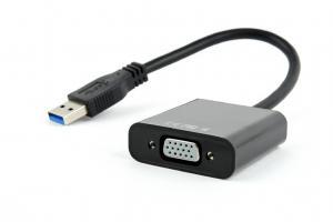Adapter USB 3.0 -> VGA czarny