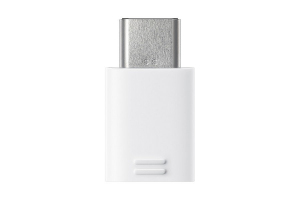 Adapter USB-C to Micro USB White