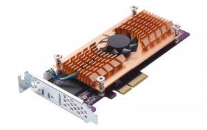 Karta rozszerzeń QM2-2S-220A Dual M.2 22110/2280 SATA SSD